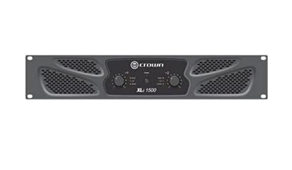 Crown XLi 1500 Amplificador PA Puenteable 900W RMS: Amazon.es: Instrumentos musicales