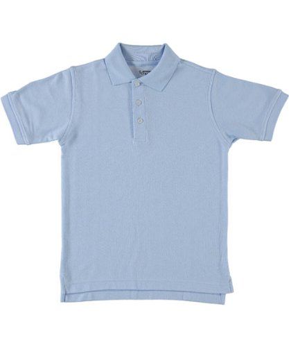 (French Toast S/S Pique Polo - blue, 4/5)