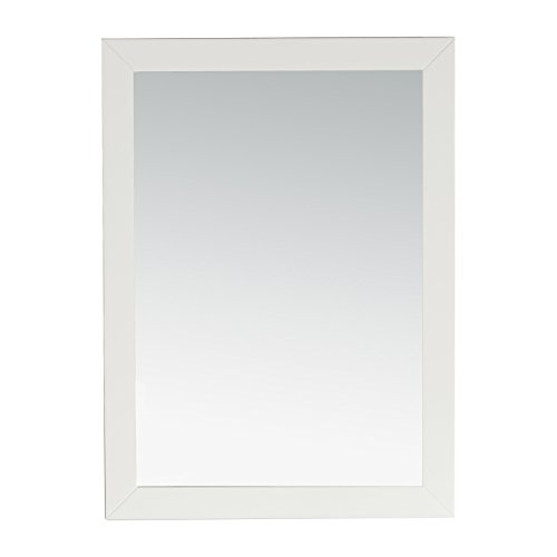 Simpli Home Chelsea Bath Vanity Mirror, Soft White