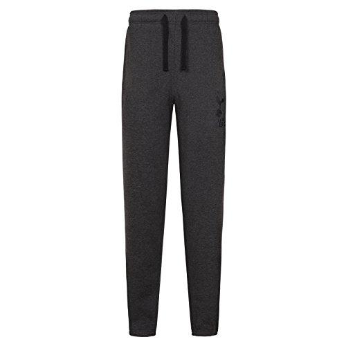 Tottenham Hotspur FC Official Gift Mens Fleece Joggers Jog Pants Grey XL (Jog Fleece Pants)