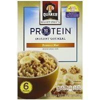 Quaker Protein Instant Oatmeal, Banana Nut, 12.9 Ounce (Pack of 6) Thank you for using our service