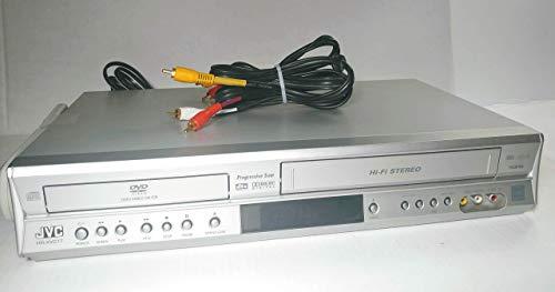 JVC HR-XVC17SU DVD-VCR Combo Hi Fi Stereo Video Cassette Recorder Player (Jvc Hr Vcr)