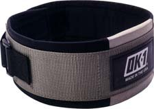 OK1 Heavy Lifting belt, 5 Inches Wide - Size Large