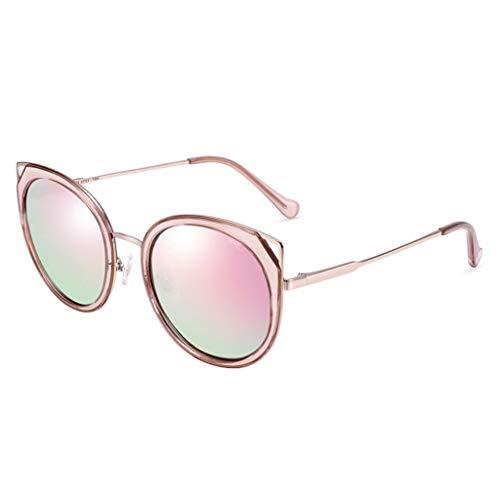 Soleil Des Cadre Lunettes Miroir Cat à Nouvelles soleil de lunettes Femmes polarisées colorées pour Grand Eye Sport de C de Femme Conduite 8gqr8USw