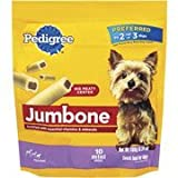 Pedigree Jumbone 10 Mini Bones 6.34oz Toy/small (Pack of 5)