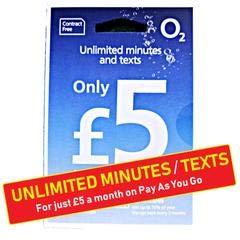 O2 - Tarjeta SIM de prepago para iPhone 5