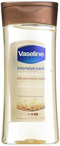 Vaseline Total Moisture Cocoa Radiant Body Gel Oil - 6.8 oz - 2 pk