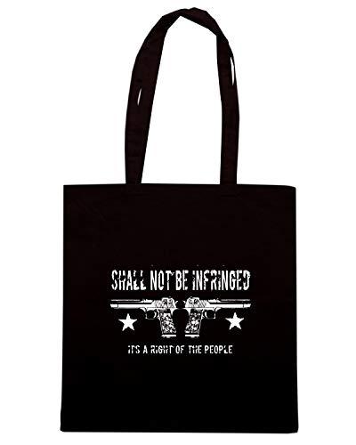 SHALL NOT Shopper INFRINGED TM0703 Borsa Nera BE vW8twO6Uvq