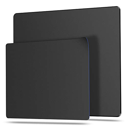 """Bitpro LGM Hard Mouse Pad,Unique 3 Layers Mouse Pad with Plastic Surface,Compatible with High DPI Mice Quick Gestures Enhance Precision for Gaming and Office-Large (11.6""""x9.5"""") Blac"""