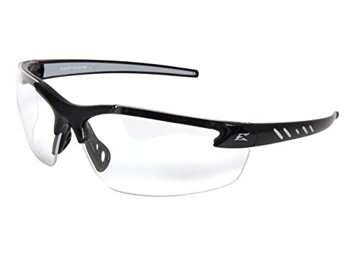 Edge Eyewear Clear Safety Glasses, Scratch-Resistant