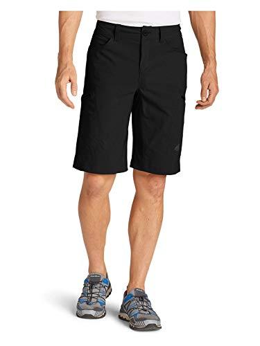 Eddie Bauer Men's Guide Pro Shorts, Black Regular ()