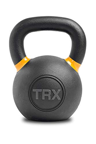 TRX Training Gravity Cast Kettlebell, Comfortable Handle for Easy Gripping (32kg)