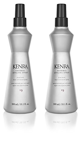 Activated Spray - Kenra Thermal Styling Spray #19, 55% VOC, 10.1-Ounce (2-Pack)