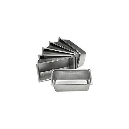 chefgadget Set de 6 Mini molde sartenes - 4,5 x 2,5 cm: Amazon.es: Hogar
