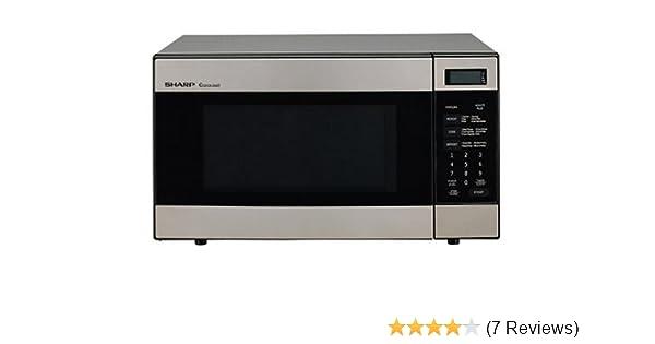 Amazon.com: Sharp R-316FS 1000-Watt 1.2 Cubic-Foot Microwave ...