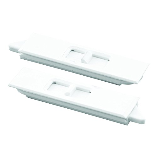 Replacement Sash Windows (Prime-Line F 2734 Tilt Latch Pair, White Plastic Construction, Spring Loaded, Snap-In)