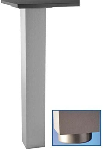 Pata de la mesa 72, 82, 87, 110cm Pata de apoyo Jumbo Acero ...