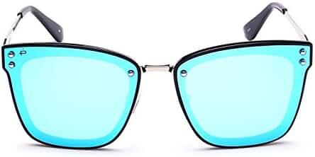 "PRIVE REVAUX ""The Nasty Woman"" Handcrafted Designer Polarized Futuristic Sunglasses"