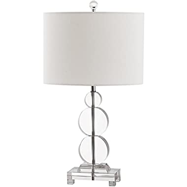Safavieh Lighting Collection Moira Crystal Table Lamp, Copper