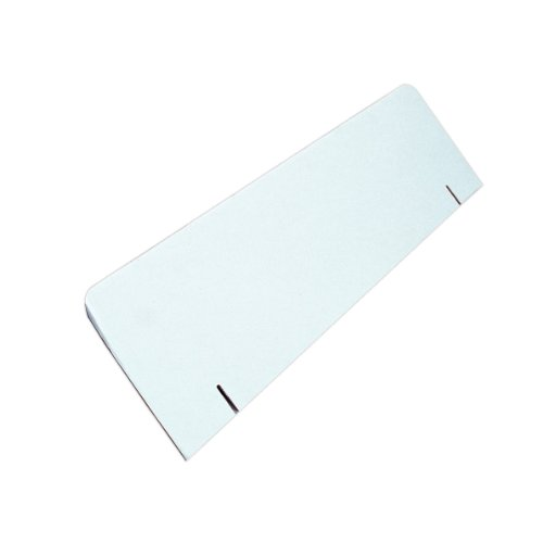 (Elmer's Corrugated Tri-Fold Display Board Header Card, 36 x 10 Inches, White (730320))