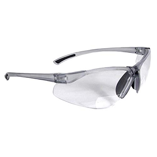 Radians Reading Bifocal Clear C2 Safety Glasses (Best Radians Eye Glasses)