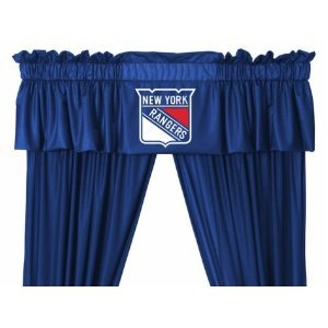 Sports Coverage NHL New York Rangers Valance (New Valance)