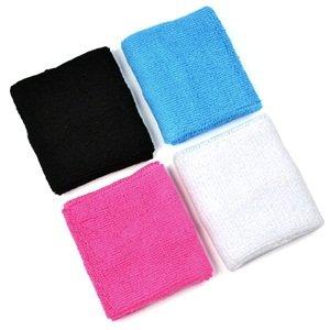 COSMOS cotton basketball wristband sweatband