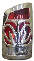 V-Tech 1327193 Crome Ram Bighorns 94-02 (Bighorns Tail Light Covers)