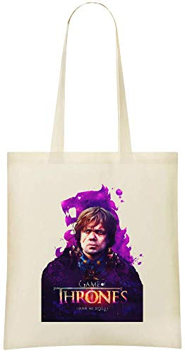 jeu de trônes entendre moi rugir - game of thrones hear me roar Custom Printed Grocery Tote Bag - 100% Soft Cotton - Eco-Friendly & Stylish Handbag For Everyday Use - Custom Shoulder Bags