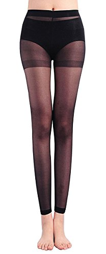 Sindy Women' s Footless Ankle Velvet Pantyhose 2 Pack (Control Top Footless Pantyhose)
