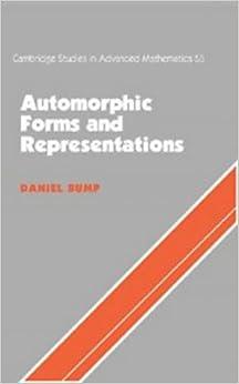 Automorphic Forms and Representations (Cambridge Studies in Advanced Mathematics)