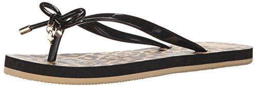 Kate Spade New York Women's NOVA Flat Sandal, Black, 10 M US
