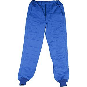 Simpsons Blue Pants - Simpson Racing 0404313 Gabardine Blue Large Nomex 2-Layer Driving Pants