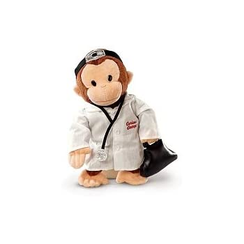 Amazon.com  Russ Berrie Curious George Doctor 12