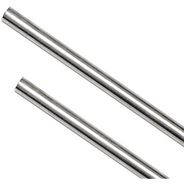 """Bar   Round  304      6  Pcs 6/"""" Long 3//8/"""" Stainless Steel Rod"""