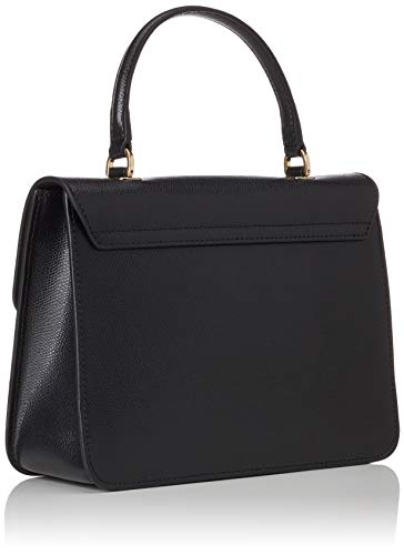Donna Top Small Furla Handle onyx Borsa Metropolis Nero xqp7OX6