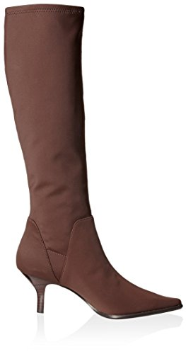 Donald J Pliner Women's Lena Pointed Toe Tall Stretch Boot Dark Brown pre order cheap the cheapest free shipping 2015 sale cheap online sneakernews sale online pd9E9NWRmv