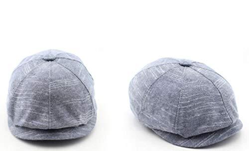 人気帽子 キャップ 春夏リネン 八角形キャップ 屋外帽子,03,59