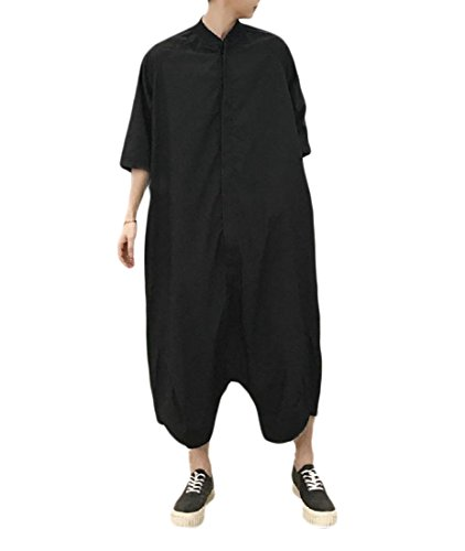 [해외]buildhigh 남성 장난 꾸 러 기 여름 헐 렁 한 점프 슈트 카고 바지 캐주얼 바디 수트 / Buildhigh Mens Rompers Summer Baggy Jumpsuits Cargo Pants Casual Bodysuit