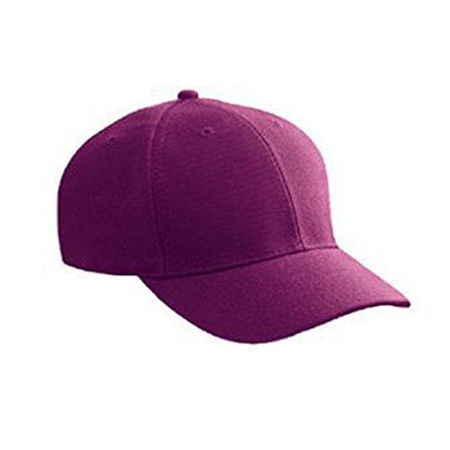 (Product of Ottocap Wool Blend Twill Six Panel Low Profile Baseball Cap -Maroon [Wholesale Price on Bulk])