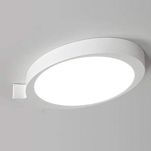 TYUIO 円形の表面はLEDの天井灯IP44の寝室の浴室、居間、台所、廊下、廊下のためのパネルDownLights天井の付属品を取付けました。 (色:ブラック - ウォームライト-66×41cm)[エナジークラスA ++] (色 : White-promise, サイズ さいず : 53*33cm) B07Q22WQ44 White-promise 53*33cm
