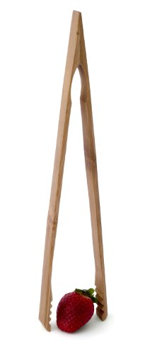 Culina Bamboo Wooden Toast Tongs 12-Inch (Culina Bamboo Cooking Utensils compare prices)