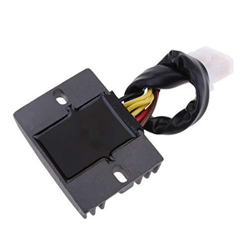 400//500 KLE400 500 EX250 500 Tubayia Motorrad Spannungsregler Gleichrichter f/ür Kawasaki EN400