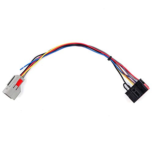 Electric Mirror Conversion - ECCPP Tow Mirrors Conversion Wiring Harness, fit Ford F150 Wire Harness Connector Adapter 8 pin to 22 pin for 2004-2017