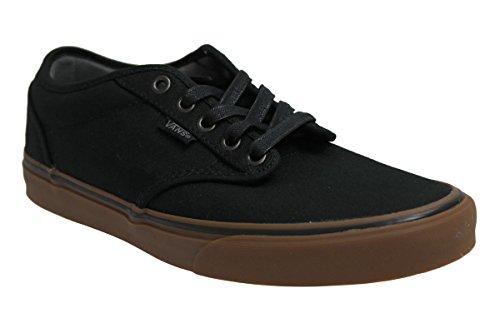 Zapatillas De Skate De Lona Atwood Vans Hombre Negro / Goma M4deloSKMQ