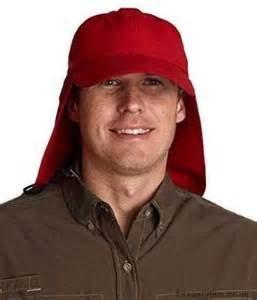 ADAM'S HEADWEAR EXTREME OUTDOOR HAT - UPF 45+ (Red) One Size