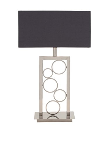 stainless steel table lamp - 8