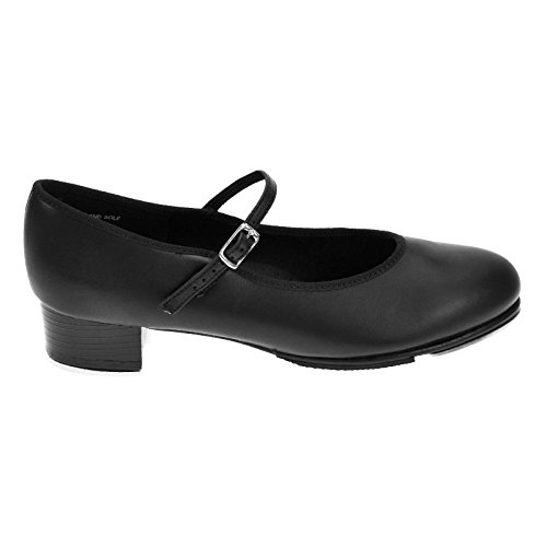 Capezio 451 Black Buckle Bar Tap Cuban Heel mc3Ze6xzhY