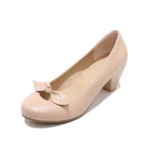 36 Beige Femme BalaMasa 5 Sandales EU Compensées Beige APL10498 qx4wwF1Og