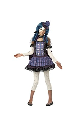 [Broken Doll Teen Costume - X-Large] (Halloween Costumes Scary Doll)